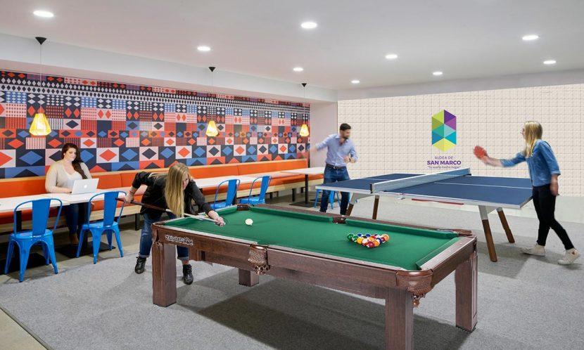 Salón de juegos Aldea de San Marco. Zipaquirá - Colombia
